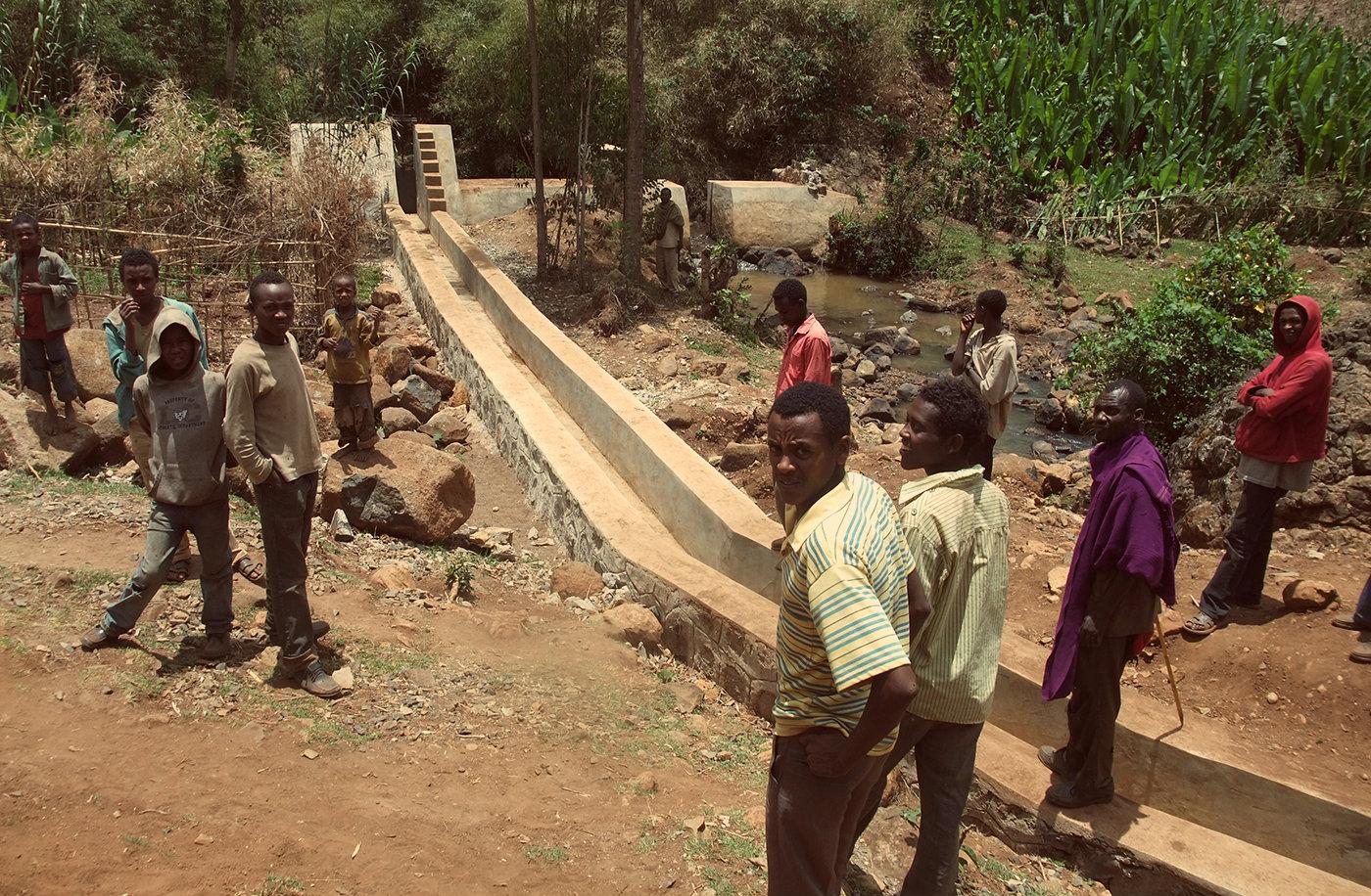Elettricità per famiglie, attività commerciali e servizi pubblici etiopi