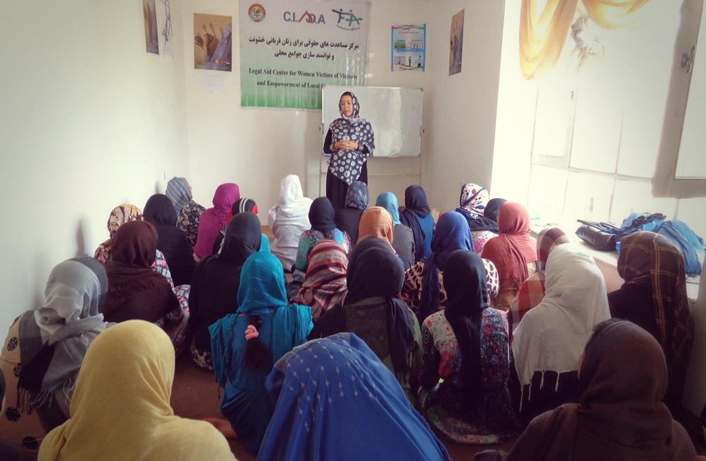 A fianco delle donne e delle comunità locali in Afghanistan