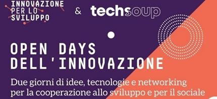 Gli opendata delle ONG agli Open Days dell'innovazione