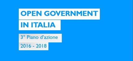 L'Italia pubblica il Terzo Piano d'Azione sull'Open Government