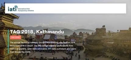 TAG 2018: usare al meglio i dati IATI per raggiungere gli SDGs
