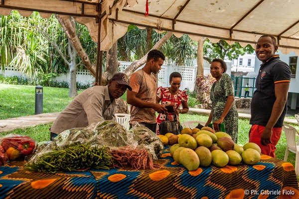 Mercato contadino, Tanzania