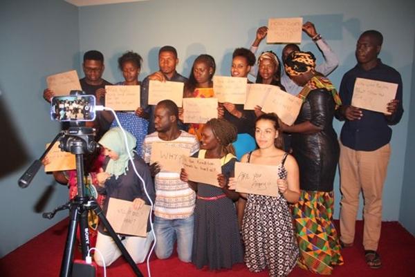 """Foto scattate nel training """"Filming the Bridge"""" sulla produzione di video di contrasto alle MGF"""