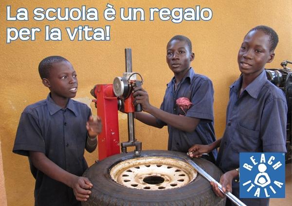 CON UNA MARCIA IN PIU' -  Centro di formazione professionale in meccanica a Ouagadougou