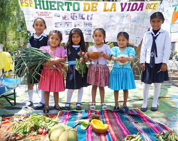 Orti scolastici in Bolivia