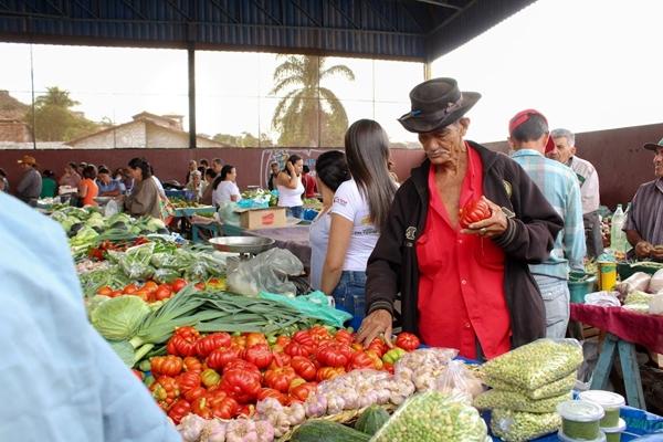 Mercato locale in Brasile