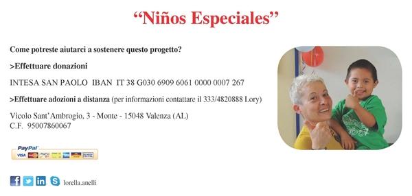 progetto Ninos Especiales